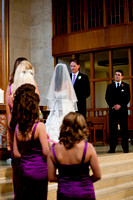 Saint Austin's Cathedral and UT Club Wedding